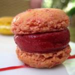 "Macaron ""Gelado"" de Framboesa."