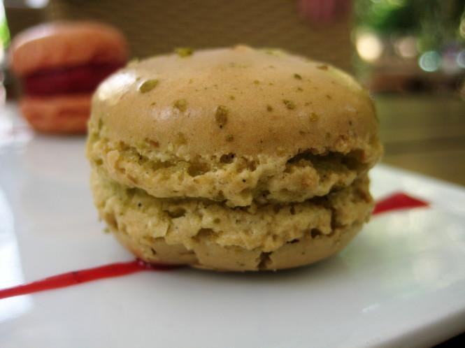 Macaron de Caipirinha.