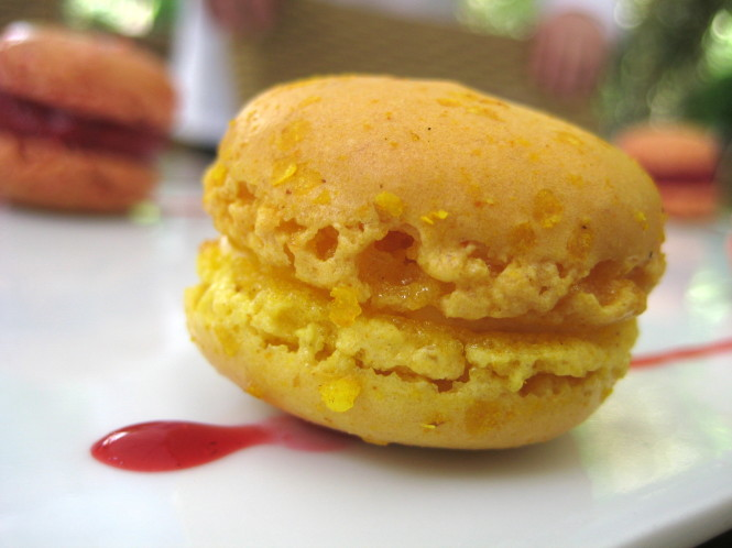 Macaron de Laranja.