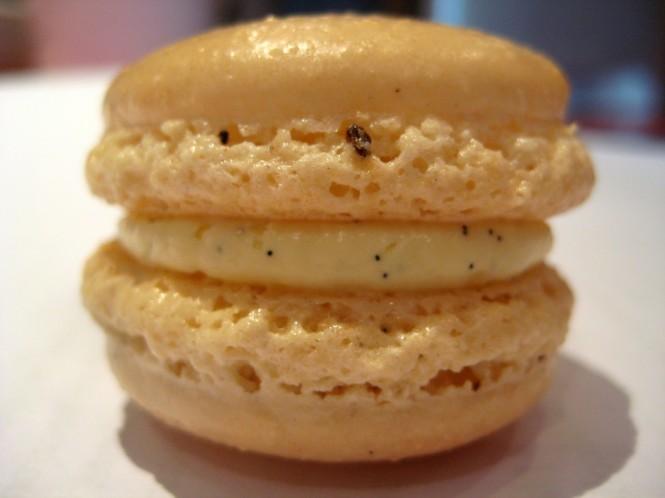Macaron Baunilha.