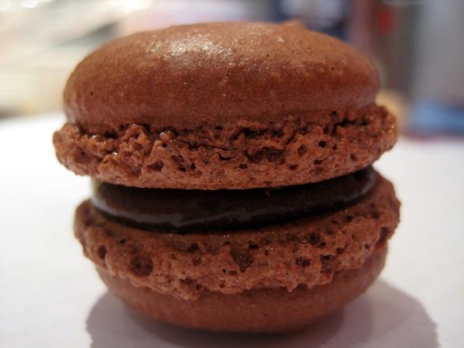 Macaron Chocolate.