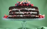 Naked Cake Frutas Vermelhas 5