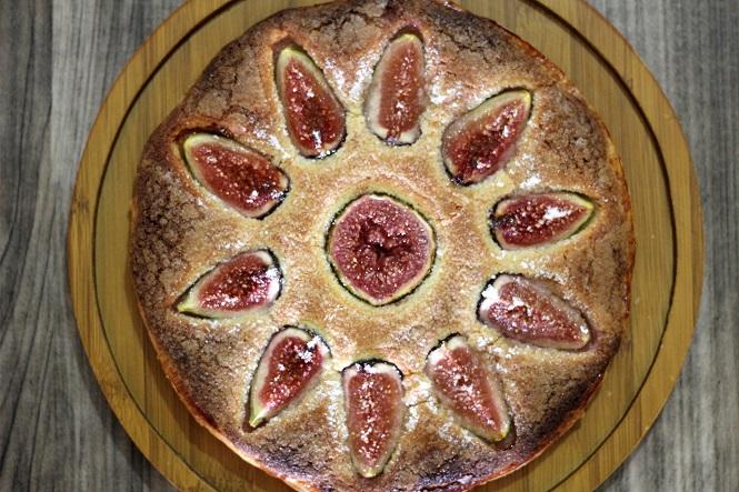 Torta de Figo e Frangipane 1