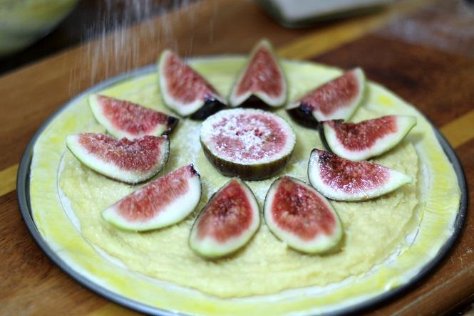 Torta de Figo e Frangipane 2