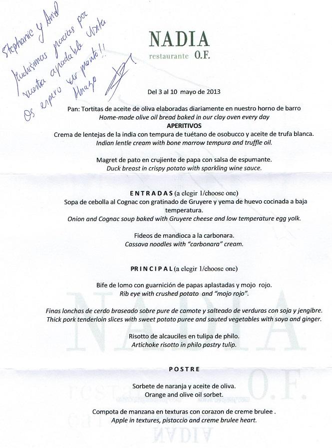 Restaurante Nadia O.F 11